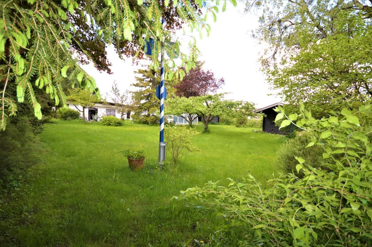 Weitläufige Gartenanlage
