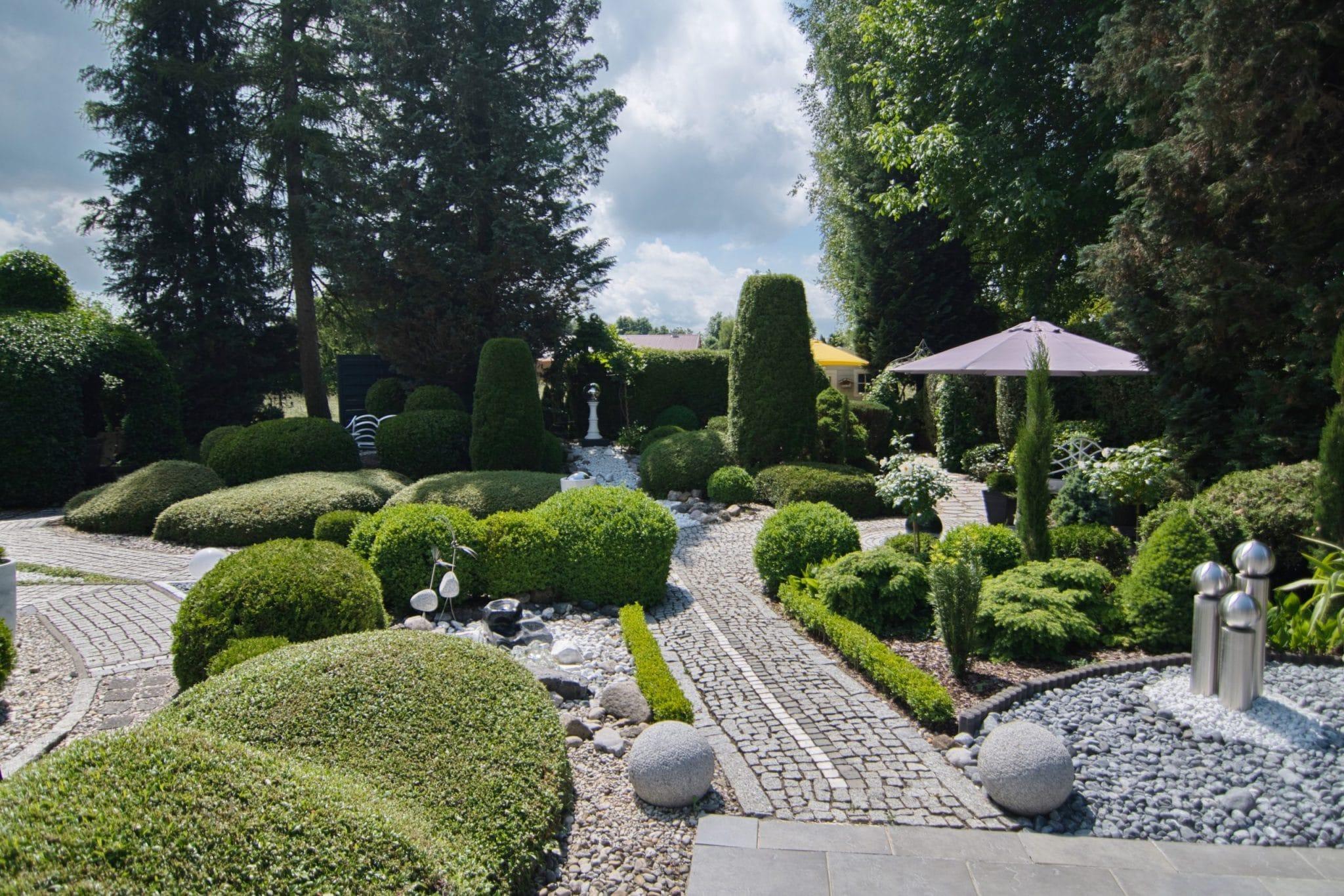 Gartenkomposition